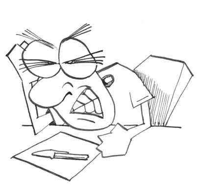 writhing writer