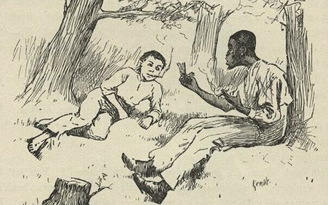 a look at the symbolism in mark twains the adventures of huckleberry finn Looking for satire and irony in huck finn you needn't look hard this article will discuss several examples of satire and irony in mark twain's popular 'the adventures of huckleberry finn.