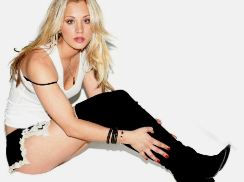 kaley-cuoco-lingerie-boots