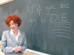 evil teacher