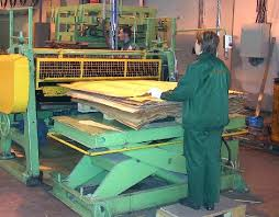 plywood press