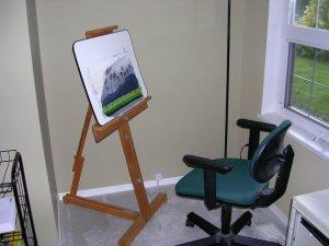 dans mon studio