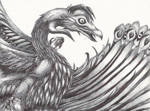 demon bird